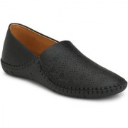 Style Shoe Mens Black Synthetic Loafer Shoe