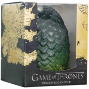 Insight Editions Game of Thrones Sculpted Candle Egg - Green
