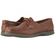 Nunn Bush Bayside Lites Two-Eye Moc Toe Boat Shoe Dark Brown