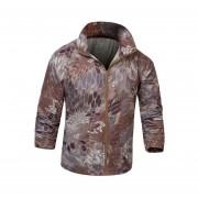 Hombres chaqueta ultra delgado táctico