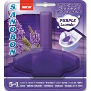 Odorizant WC, solid, 55gr, SANO Bon Purple Lavender 5-in-1