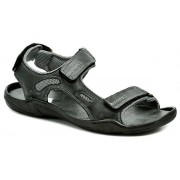Koma 66 černé pánské nadměrné sandály EUR 47