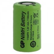 Акумулаторна батерия NiMH 110AFHO-B 2/3A, 2/3R23 1.2V 1100mAh 1бр. GP BATTERIES, GP-BR-110AFHO-NIMH