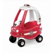 Masinuta Pompieri cu claxon pentru baieti Rosie Cozy Coupe