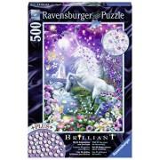 Puzzle Unicorn in padurea sclipitoare, 500 piese