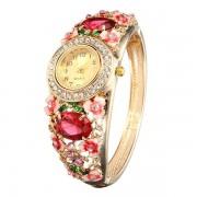 Vintage Cloisonne Flower Watches