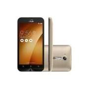 Smartphone Asus Zenfone Go Dual Chip Android 5.1 Tela 5 8GB 3G Câmera 8MP - Dourado