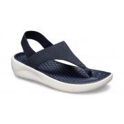 Crocs LiteRide™ Mesh TeenSlippers Damen Navy / White 38