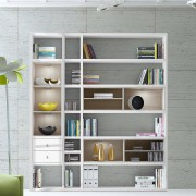 Home24 Open kast Emporior III.A, home24 - Wit