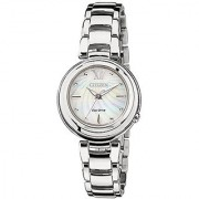 Citizen Analog Mother Of Pearl Dial Womens Watch - Em0331-52D