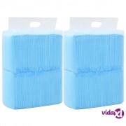 vidaXL Podloge za obuku ljubimaca 200 kom 60 x 45 cm od netkane tkanine