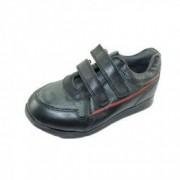 Pantofi din piele naturala pentru baieti PINKY PINKY PP20 Negru 31