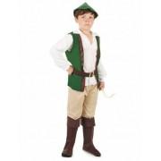 Vegaoo Woudman kostuum voor jongens 104/116 (4-6 jaar)