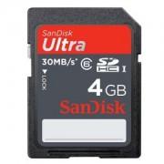 SDHC Ultra 4GB 30Mb/s