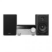 Sony CMT-sx7 Hifi-kabel 2 x 50 W Bluetooth/NFC, W-LAN, Multi-Room, hoge audio-resolutie