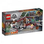 Конструктор Лего Джурасик Свят - Преследване с велосираптор в Jurassic Park LEGO Jurassic World, 75932