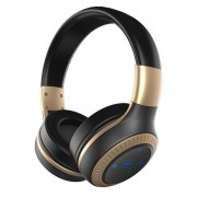 ZEALOT B20 Over-ear Bluetooth Headphone Foldable Headset with Mic - Black / Gold