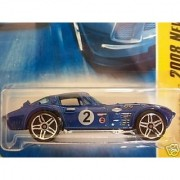 Mattel Hot Wheels 2008 New Models 1:64 Scale Blue Chevy Corvette Grand Sport Die Cast Car #008