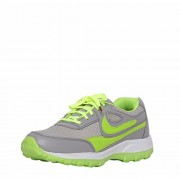 Menter High Quality Light Weight Lace-up Green Color Sport Shoes For Men