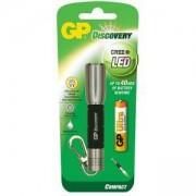 Фенер, ключодържател Discovery CREE, LED, 1 AАА батерии, сребрист, GP-F-GPLCE202-SILVER