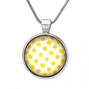 Silvego Přívěsek se žlutými puntíky - VSP025