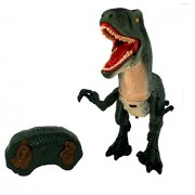 RIANZ Dinosaur Planet Dragon Battery Operated Remote Control Toy Figure, Shaking Head, Walking Movement, Light up Eyes and Sounds