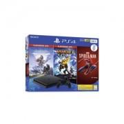 Igraća konzola PlayStation 4 500GB + Marvel's Spiderman/Horizon Zero Dawn Complete Edition/Ratchet and Clank Hits bundle