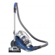 Aspirator fara sac Hoover Synthesis ST50ALG 011, 550 W, 10 L, 75 dB, Multicyclone, Filtru HEPA 13, Argintiu/Albastru 39001585