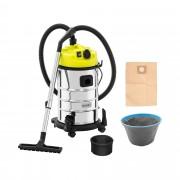 Wet/Dry Vacuum Cleaner - 1,400 W - 30 L - socket
