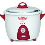 Maharaja Whiteline Inicio Multi Electric Rice Cooker(1.8 L, Red, White)