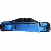 47.5CM WP2 Al Aire Libre Resistente Al Agua De La Cintura Fanny Bolsa De Bolsa De Paquete Para El Hombre Deportes De Las Mujeres Deportes De Viaje Para Los Teléfonos Móviles De Menos (azul Marino)