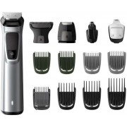 Aparat de tuns 14 in 1 Philips MG7720/15 Multigroom Series 7000, 14 instrumente (Argintiu)