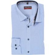 Marvelis Body Fit Hemd Extra langer Arm (69cm) blau