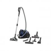 Rowenta Silence Force Cyclonic 4A Animal Pro Aspirapolvere a Traino senza Sacco 2,5lt 750W A Nero Blu
