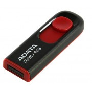 USB Flash Drive 8Gb - A-Data C008 Classic Black-Red AC008-8G-RKD