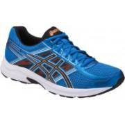 Asics Gel-Contend 4 Running Shoes For Men(Blue, Black, Orange)