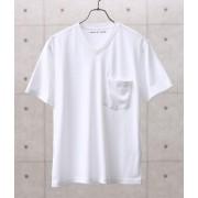 【機能素材】COOL MAX VネックTシャツ