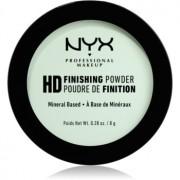 NYX Professional Makeup High Definition Finishing Powder pudra culoare 03 Mint Green 8 g