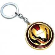 Stonic GCT Revolving Rotating Iron Man Keyring Key Chain