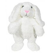 """Dear Baby Gear """" Animal and Outfit Collection """" Mix And Match, Rabbit 16 inches, White"""