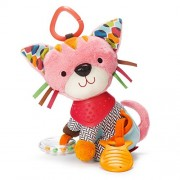 Skip Hop Bandana Buddies Activity Toy - Kitty, Multi Color