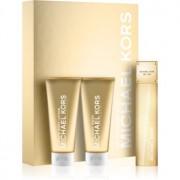 Michael Kors 24K Brilliant Gold lote de regalo II. eau de parfum + leche corporal + gel de ducha
