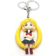 Trunkin Cute Doll Girl Long Hair Model 2 Keychain