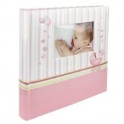 Album foto personalizabil Baby Chart, 100 pagini, 32x29cm, Roz