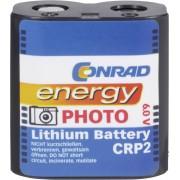 Baterie foto litiu CR-P2, 6 V, 1400 mAh, Conrad energy
