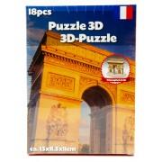 39.95 3D-pussel. välj ml. diff. sevärdheter Triumphal Arch