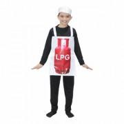 Kaku Fancy Dresses Lpg Cylinder Costume/Object Fancy Dress -Multicolor 3-8 Years for Unisex