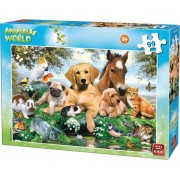 Kinderpuzzel FARM ANIMALS 99 Stukjes