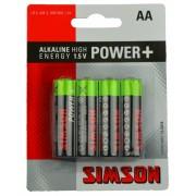 Simson batterijen AA MN1500 1,5V 4 stuks