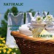 PACHET Detergent lichid ecologic 3l -Naturalic & percarbonat de sodiu 1kg-& CADOU parfum de rufe 100ml